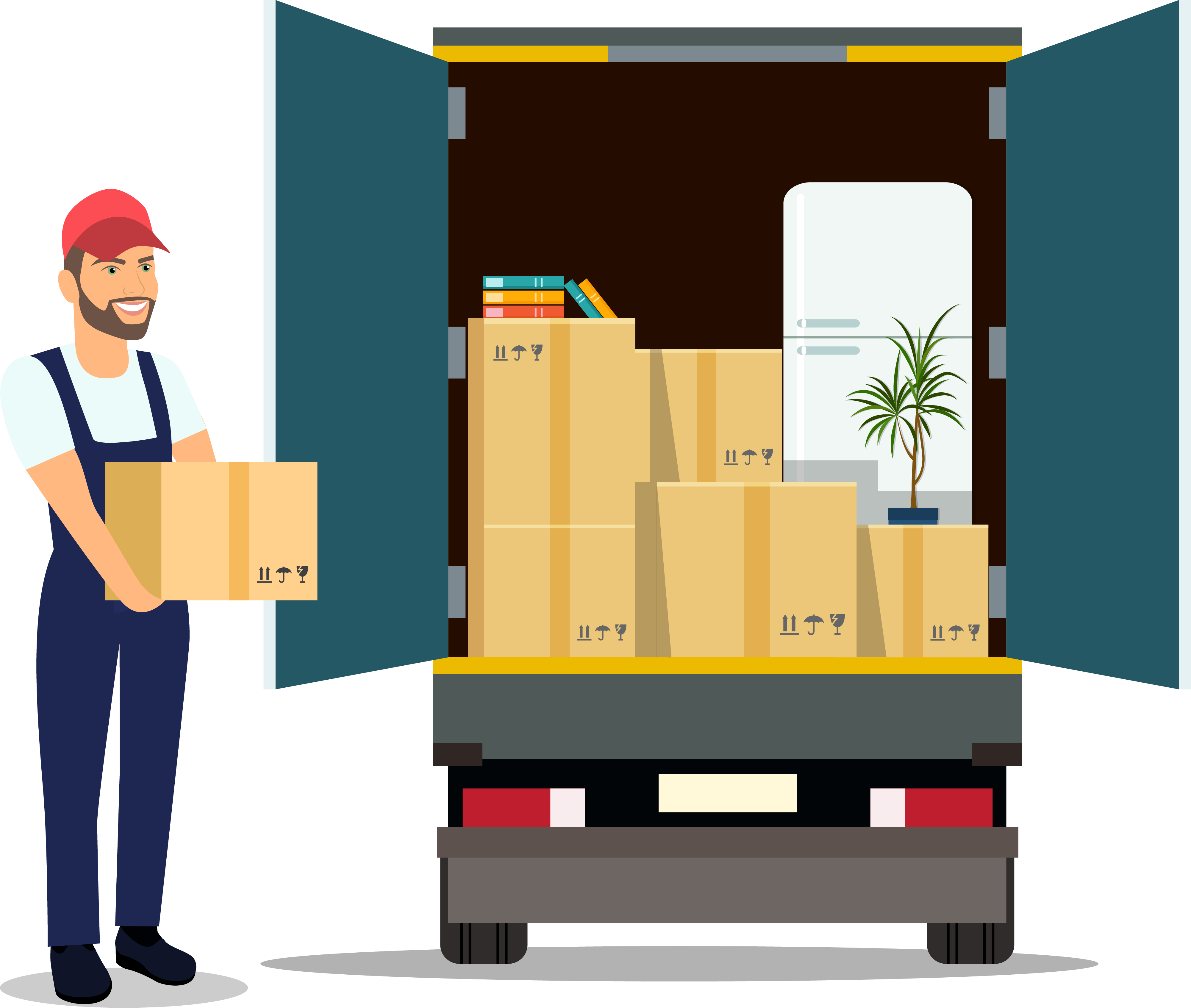 Moving Services - Loading Moving Truck